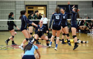 River Hill Volleyball Suffers Season Ending Loss To Damascus